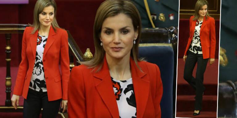 Königin Letizia im Business-Chic