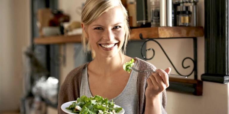 Jeden Tag Salat:  Wie gesund ist das?