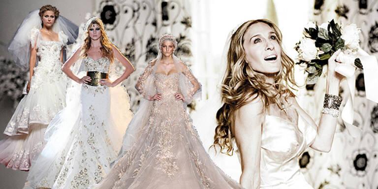 Ja, ich will- Brautkleider zum Verlieben!