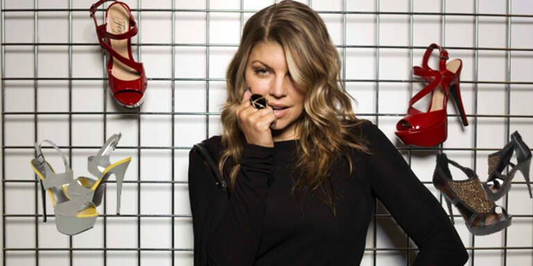 Fergie präsentiert High-Heels Kollektion