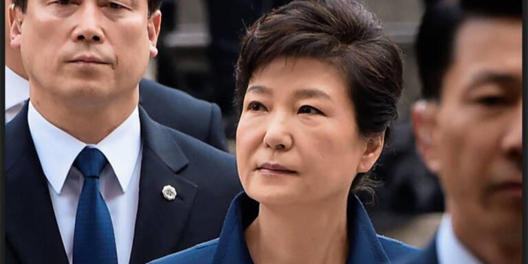 Südkoreas entmachtete Präsidentin im Gefängnis
