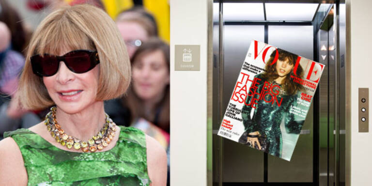 Vogue-Gossip aus dem Aufzug