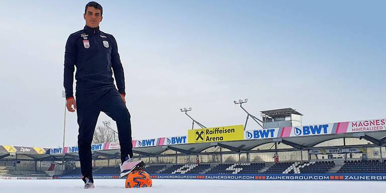 LASK verpflichtet Stürmer-Youngster
