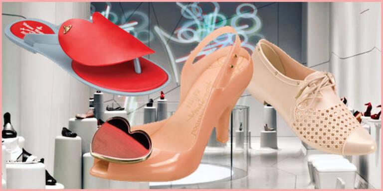 Trendige Schuhe von 'Galeria Melissa' gewinnen
