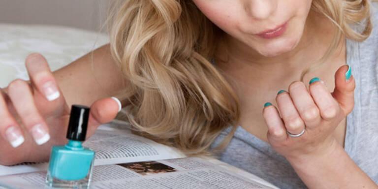Giftige Stoffe in Nagellack enthalten