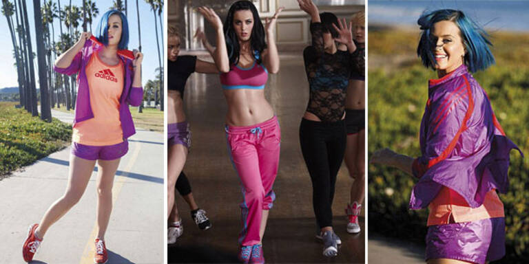 Katy Perry zeigt wie man Jogginghosen trägt