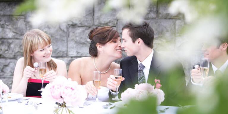 Als Single-Gast auf Hochzeitsfeier
