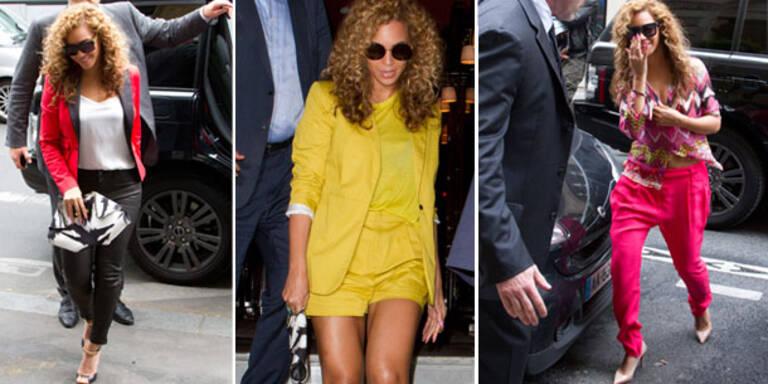 Beyoncés Paris-Style