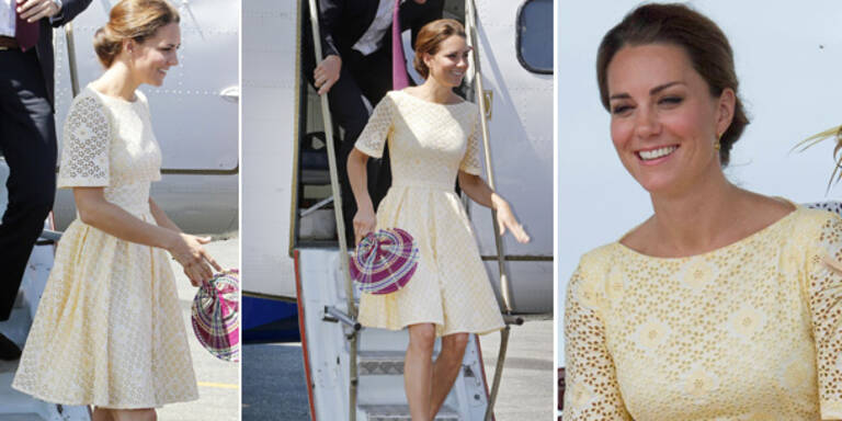 Kates selbst entworfenes Kleid