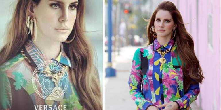 Ist Lana Del Rey das neue Versace-Gesicht?