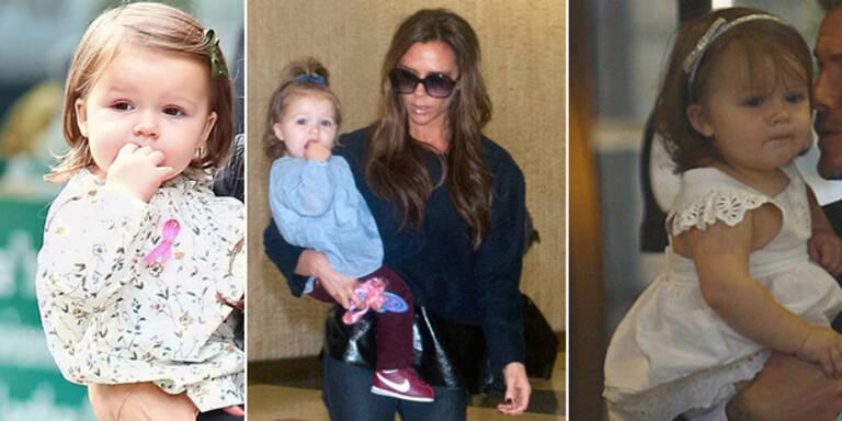 Harper Beckham trägt Outfits nie zweimal