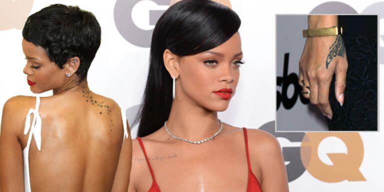 Rihanna möchte Tattoo im Gesicht