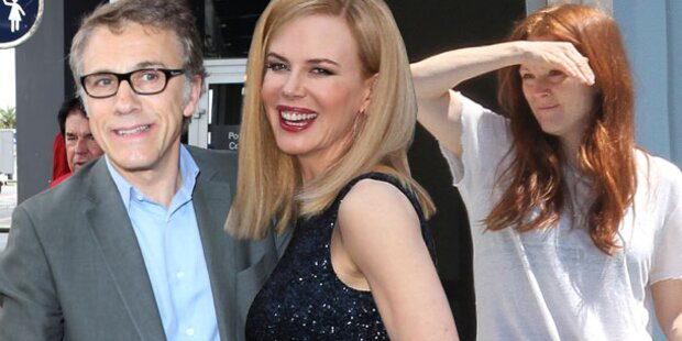 Star-Ansturm auf Cannes: Jetzt geht's los