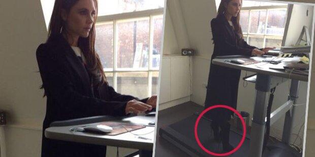 Beckham: Schreibtisch ist ein Laufband