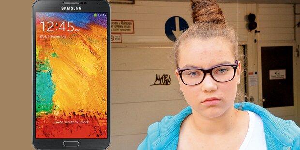 13-Jähriger raubte Teenie das Handy