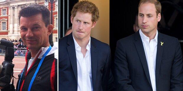 William & Harry: Sorge um Freund