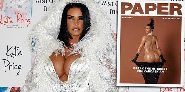 Katie Price ätzt gegen nackte Kim Kardashian