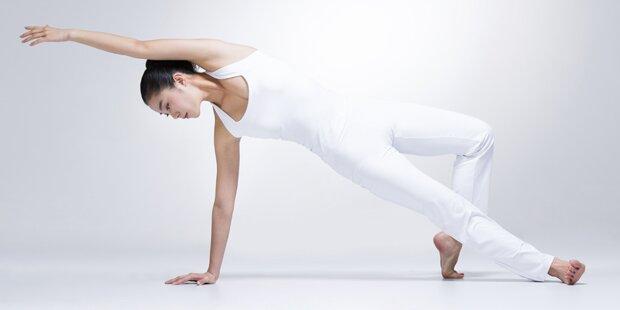 Yoga ist genauso gesund wie Sport