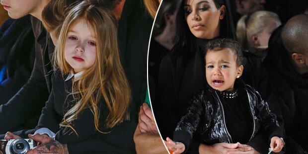 Harper Beckham & North West: Ist Front Row echt nötig?