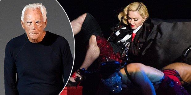 Giorgio Armani ätzt gegen Madonna