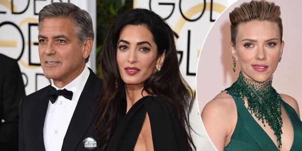 Amal Clooney: Eifersüchtig auf Scarlett Johansson