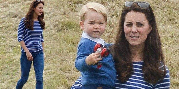 Herzogin Kate: Zu dünn nach Baby?