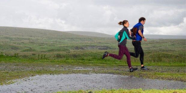 So macht Sport auch bei Regen Spaß