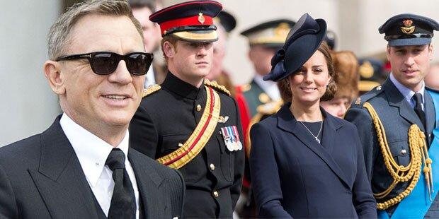 Royale Premiere für neuen Bond-Film