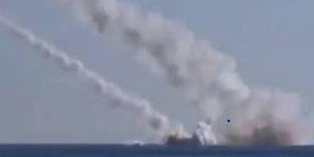 Putin greift Ziele mit U-Boot an