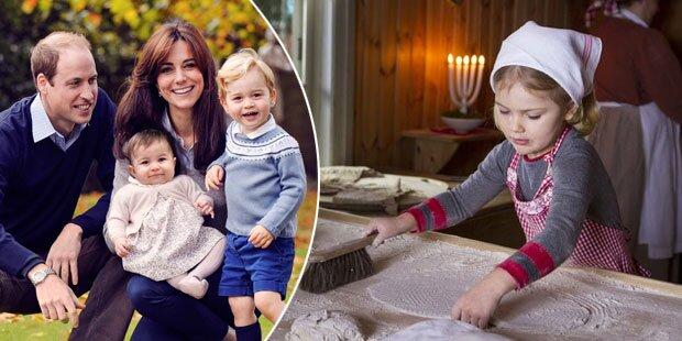 Royal-Kids: So süß sind Weihnachtsfotos