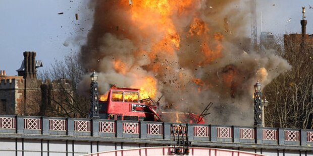 Bus-Explosion führt zu Chaos in London