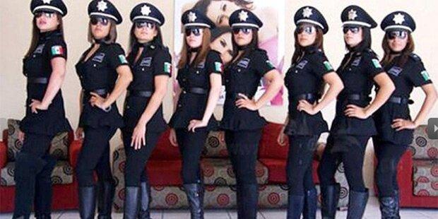 Polizistinnen protestieren gegen sexy Uniformen