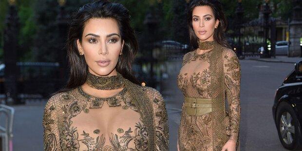 Was Kim Kardashian vor diesem Auftritt aß
