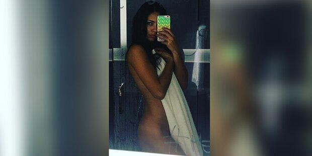 Adriana Lima feiert Nackt-Selfie-Debüt