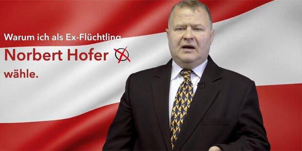 Ex-Flüchtling mit Brandrede für Norbert Hofer
