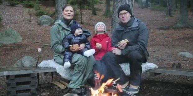 Der Weihnachtsgruß der Schweden-Royals
