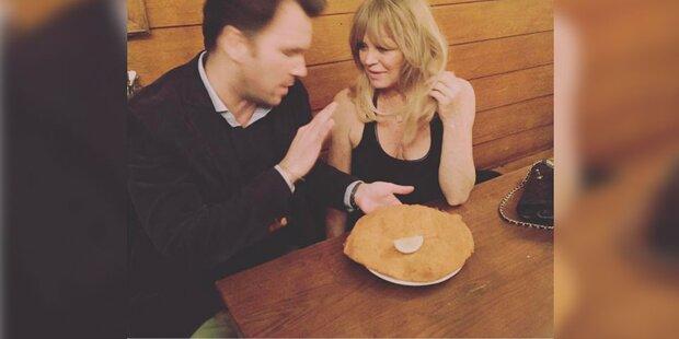 Goldie Hawn: Das Schnitzel schmeckt