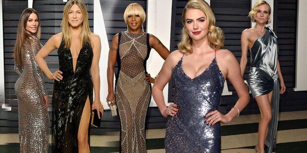 Die heißesten Stars der Oscar-Nacht