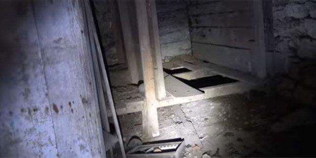 Er öffnete 300 Jahre alten Keller und hat es sofort bereut
