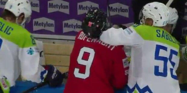 Schock-Attacke bei der Eishockey-WM