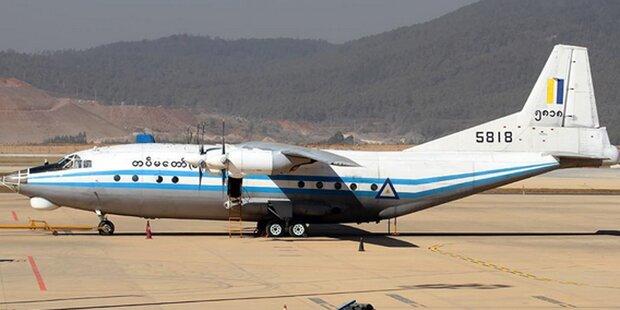 Teile von vermisstem Flugzeug vor Myanmar entdeckt