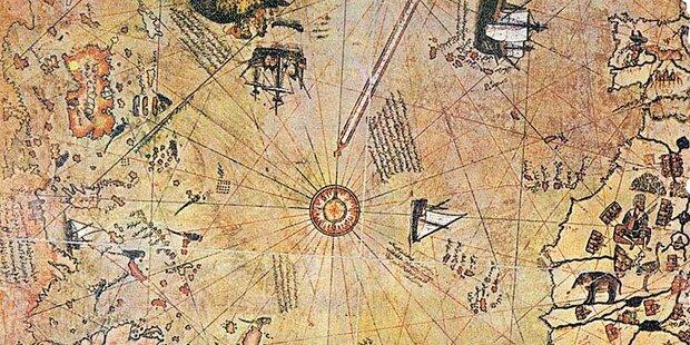 500 Jahre alte Weltkarte gibt Rätsel auf