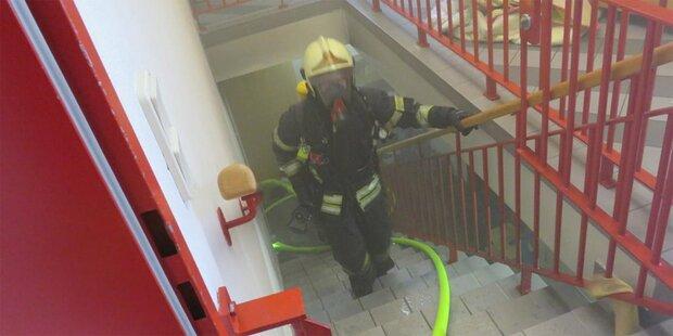Kindergarten wegen Kellerbrands evakuiert