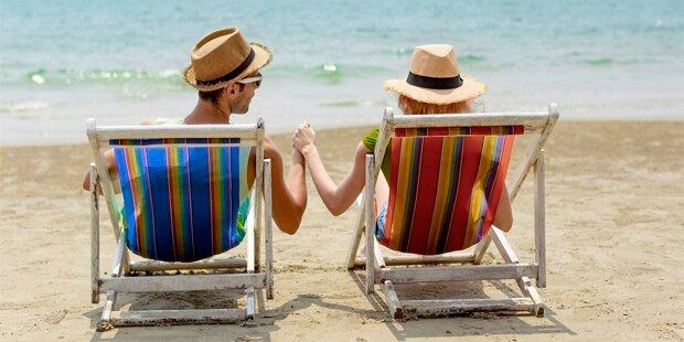 Jeder 10. Österreicher versagt beim Flirten im Urlaub