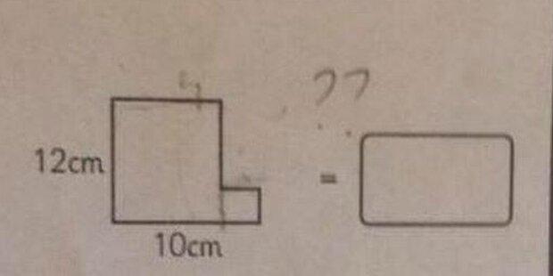 Diese Mathe-Aufgabe für 10-Jährige lässt das Netz verzweifeln