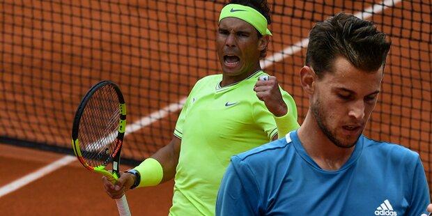 Nadal holt sich 12. Titel