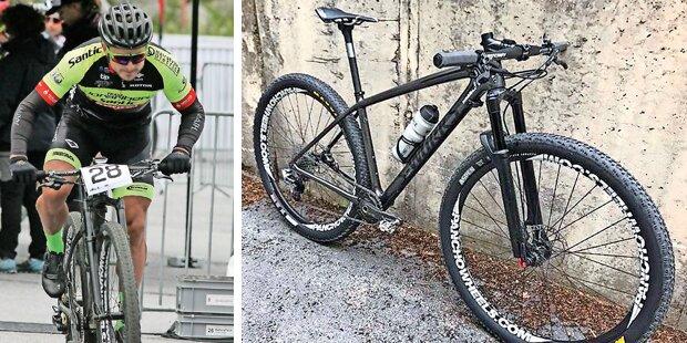 Profi-Rad von Weltmeister gestohlen