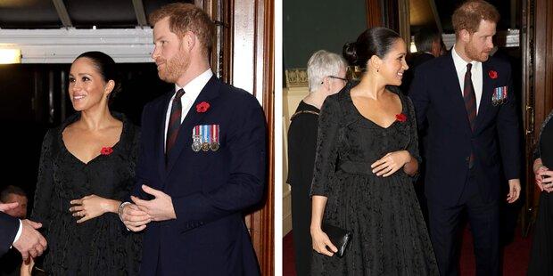 Ist Meghan schon wieder schwanger?