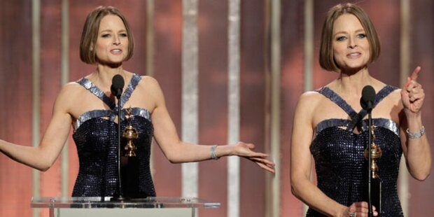 Jodie Foster: Coming Out bei Golden Globes