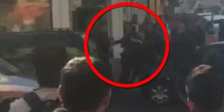 Video zeigt Festnahme vom Wiener Amokfahrer